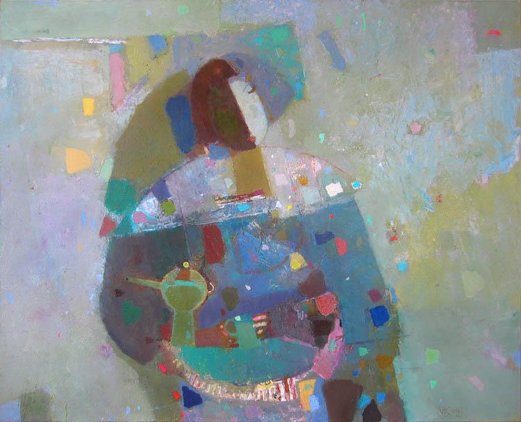 Vladimir Karnachev - Óleo sobre canvas
